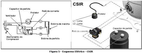o que é um capacitor de partida esquema eletrico csir