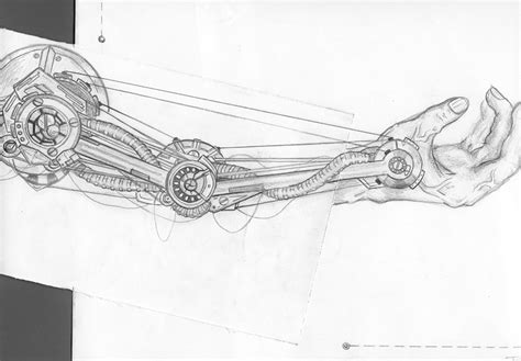 mechanical arm ip3 by guitarromantic on deviantart