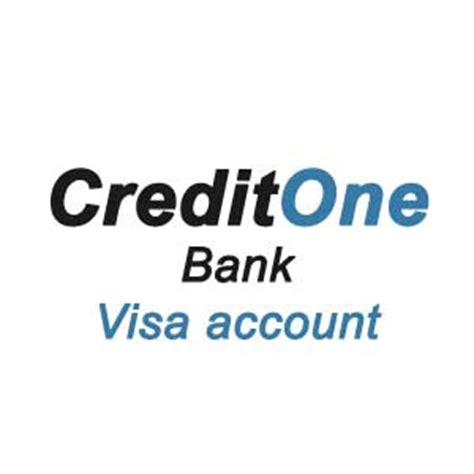 credit one get your credit one bank visa account on www creditonebank com