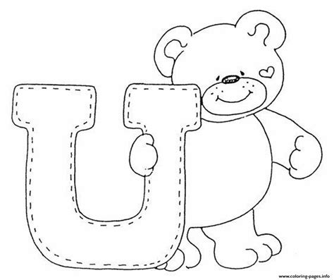 cute letter coloring pages cute bear alphabet s freea3a4 coloring pages printable