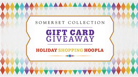 win gift cards from somerset collection contest ended - Click On Detroit Somerset Gift Card