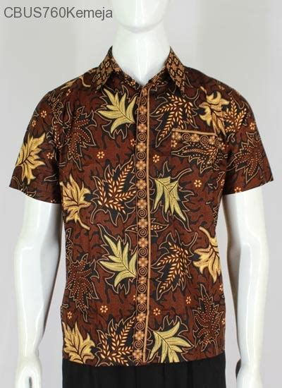 Kemeja Batik Pekalongan Motif Daun Merambat baju batik sarimbit kemeja motif daun kemeja lengan
