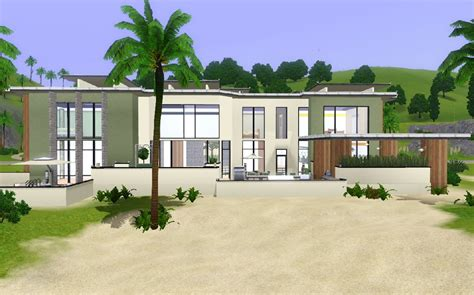 mod the sims modern house
