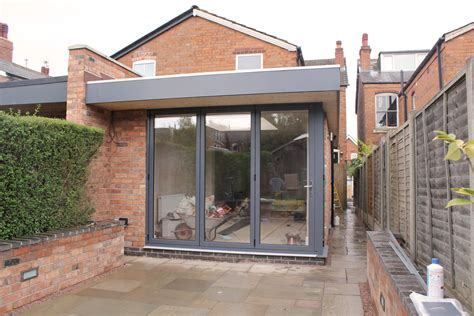 L Shaped Garage Designs birmingham contemporary single storey rear extension