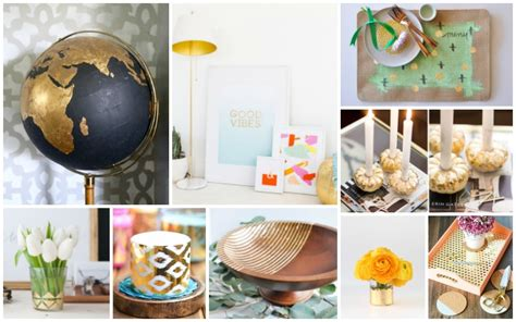 top 28 decorations that you can make at home 16 diy gold foil decorations you can easily make