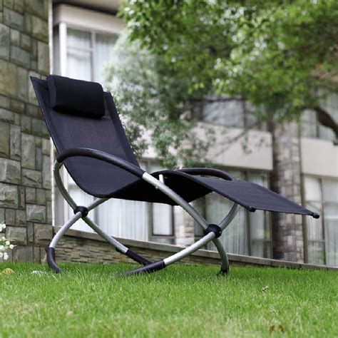 garden rocking chairs orbital relaxer rocking garden chair black 163 61 74