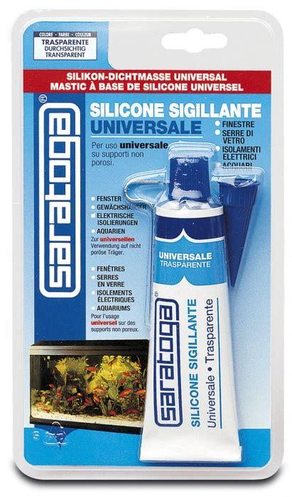siliconare box doccia silicone universale in blister sigillanti acetici saratoga