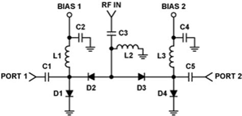 pin diode switch circuit driving pin diodes the op alternative analog devices