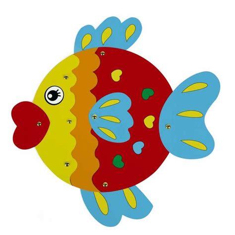 Set Golfish Kid kid set drawing craft cardboard painting diy paint goldfish decoration fish