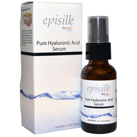 Hyalumoist Serum hyalogic llc episilk hyaluronic acid serum 1 fl oz 30 ml iherb