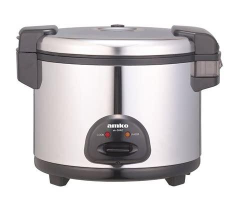 Rice Cooker Restoran amko ak50rc electric rice cooker warmer restaurant equipment and supplies restaurant