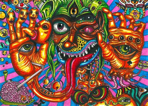 Detox Lsd by Hallucinations The Influence Of An Lsd Abuse