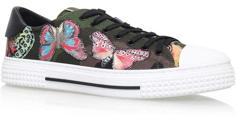 butterfly sneakers valentino butterfly low top sneakers lyst