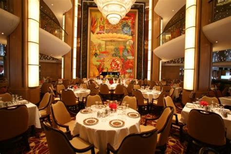 Adagio Dining Room by Of The Seas Cruise Ship Deals From Cruisedirect