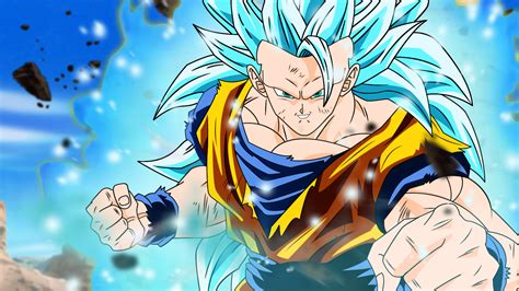 Goku Vegeta Ssj 3 goku ssj3 blue wallpaper by desertwiggle on deviantart