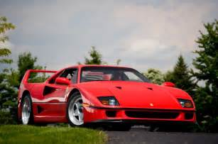 F40 Pics F40 Named The Most Iconic Supercar