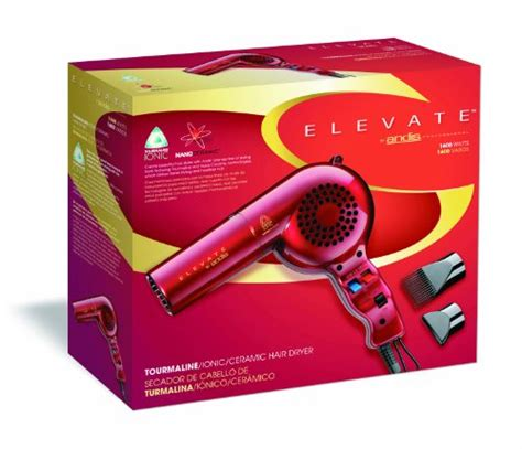 Andis Tourmaline Ionic Ceramic Hair Dryer Reviews elevate by andis 30865 professional tourmaline ionic ceramic 1600 watts hair dryer andis beautil