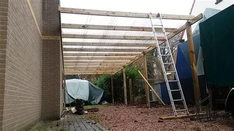 carport bouwen gemakkelijk zelf te doen met ons bouwpakket