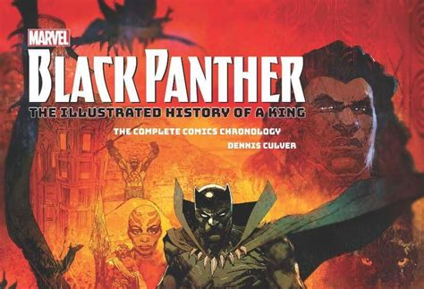 marvel s black panther the illustrated history of a king the complete comics chronology books quot black panther the illustrated history of a king