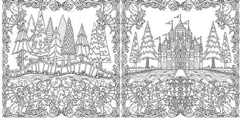 anti stress coloring book enchanted forest anti stress colouring book enchanted forest