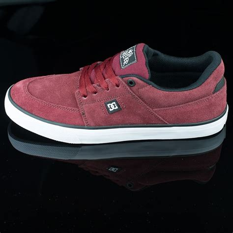 Harga Dc Shoes Wes Kremer wes kremer s shoes burgundy white in stock at the boardr