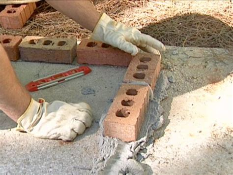 how to make a brick pit in your backyard how to build a brick barbecue how tos diy