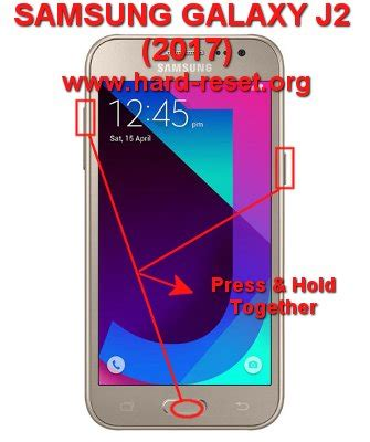 reset samsung j2 how to easily master format samsung galaxy j2 2017 j200g