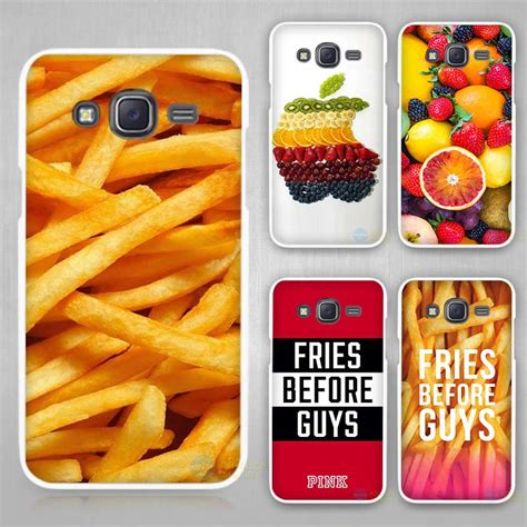 Marilyn 0035 Casing For Galaxy J5 Prime Hardcase 2d ᐊfood fries fruits grape ᗔ strawberry strawberry white plastic cover cover for