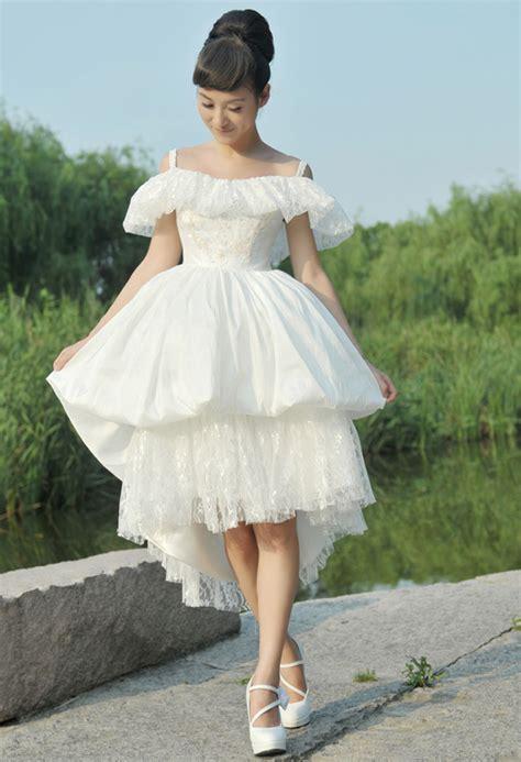 Vintage Unique Wedding Dresses by Unique Vintage White Wedding Dress Sang Maestro