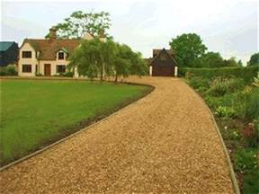 pea stone driveway if i had a tower pinterest