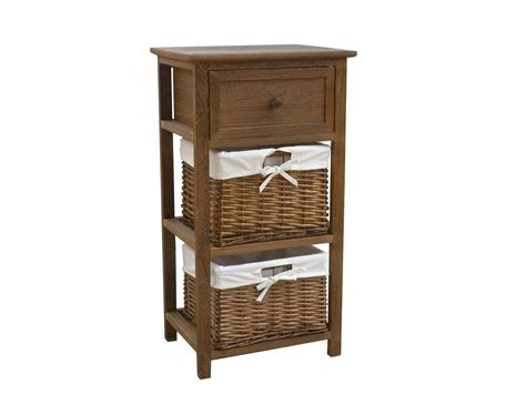 storage with drawers charles bentley home wicker storage baskets