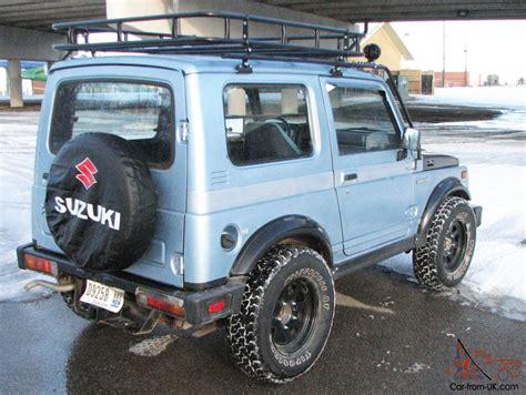 Suzuki Samurai Roof Rack 1988 5 Suzuki Samurai 4x4 Tin Top Roof Rack Suv S