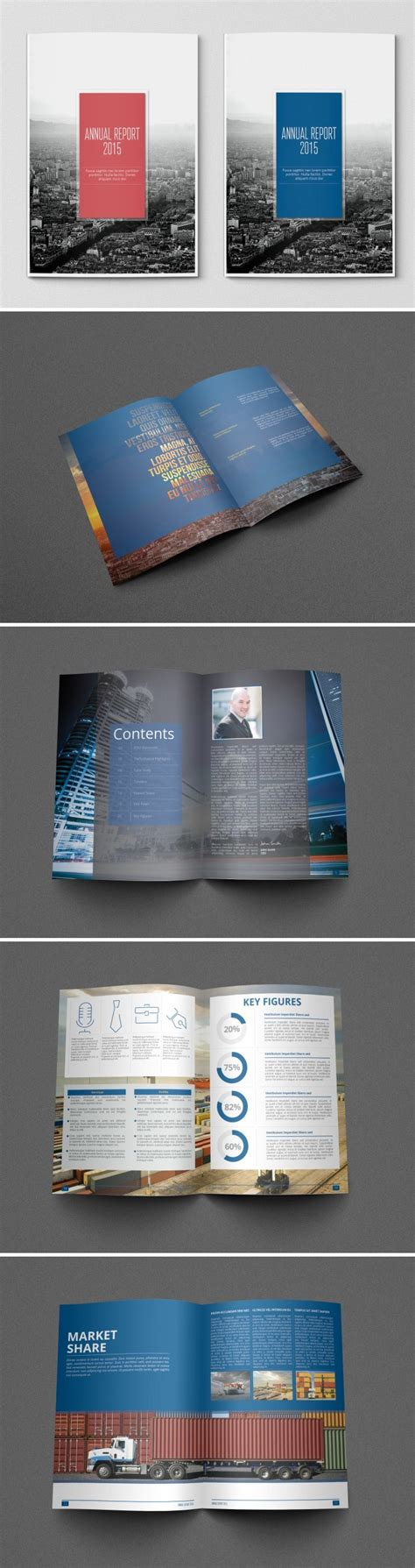 simple annual report template a showcase of annual report brochure designs to check out