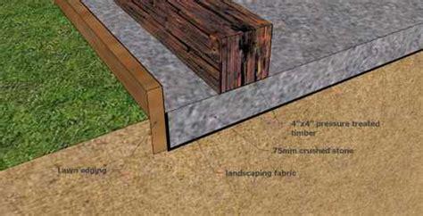 build  simple  economical storage shed foundation