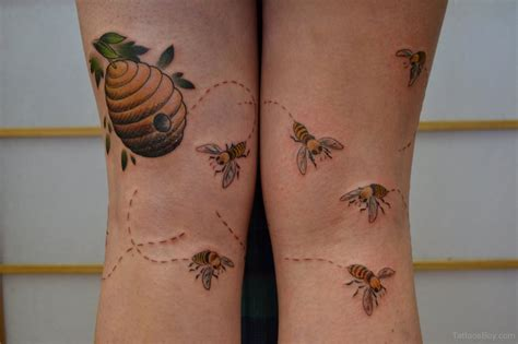 honey tattoo bumble bee tattoos designs pictures page 2