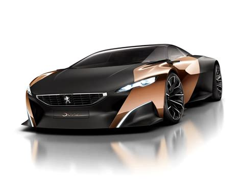 peugeot onyx supercar concept will come with matching scooter