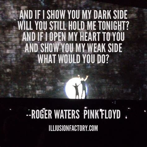 Be Still My Darkened by And If I Show You My Side Will You Still Hold Me