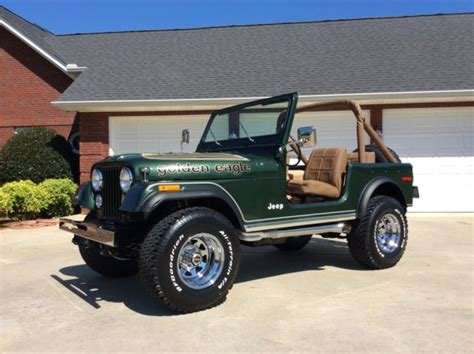 jeep cj golden eagle 1977 jeep cj7 golden eagle sport utility 2 door 5 0l for