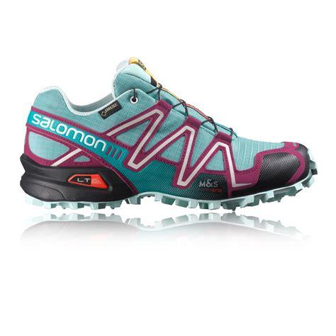 salomon speedcross 3 gtx trail running shoe salomon speedcross 3 gtx s trail running shoes
