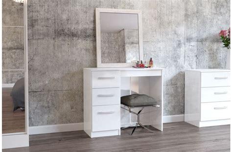 white high gloss dressing table lynx white high gloss dressing table assembled bedroom