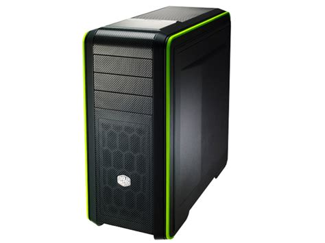 Cooler Master Cm 690 Iii White Green List cooler master cm 690 iii mid tower with side panel