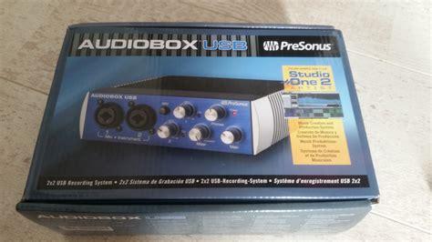 Presonus Audio Box Usb audiobox usb presonus audiobox usb audiofanzine