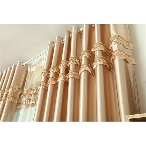 light gold curtains light gold patterned luxury polyester custom bedroomr curtains