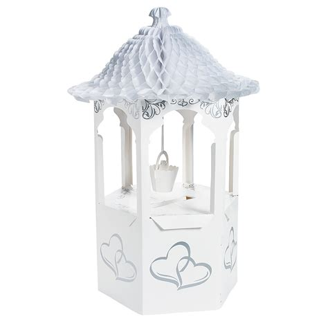 Wishing Well Gift Card Holder - wishing well wedding card holder oriental trading