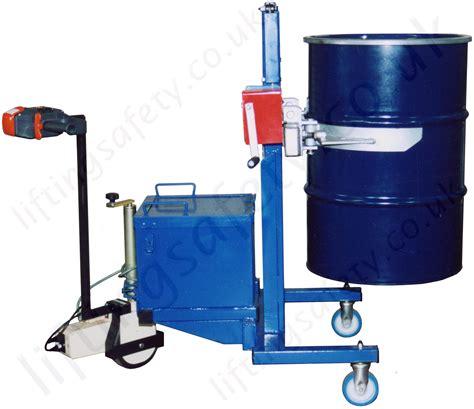 Drum Lift manual or powered workshop drum lifting turning handling