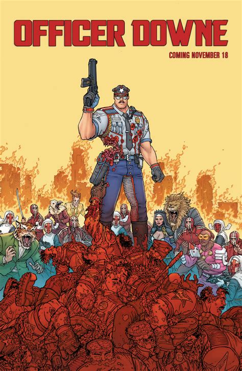 Officer Downe by Officer Downe Poster Reveal And Nycc Signing Info