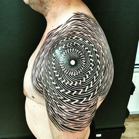 optical illusion tattoos designs ideas and meaning