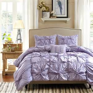 Ruffled Bedding Sets Purple Comforter Sets Purple Bedroom Ideas
