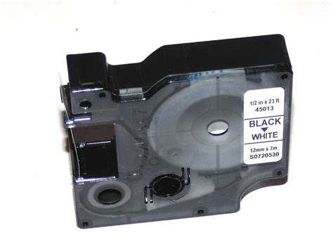 dymo label cassette dymo cassette for labelmanager label maker d1 12mm x