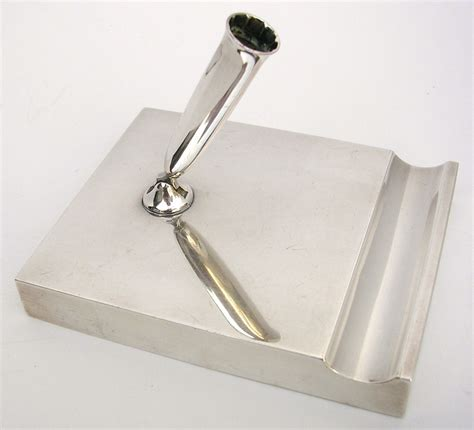 pen holder for desk sale tiffany makers sterling pen holder desk piece c